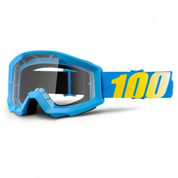 LUNETTES 100% STRATA BLEU/JAUNE BLUE