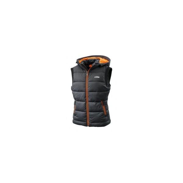 veste duvet femme ktm sans manche padded veste wolff moto products sarl. Black Bedroom Furniture Sets. Home Design Ideas