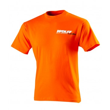TEE SHIRT WOLFF ORANGE