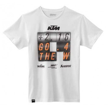 "TEE SHIRT KTM ""GO 4 THE W"""