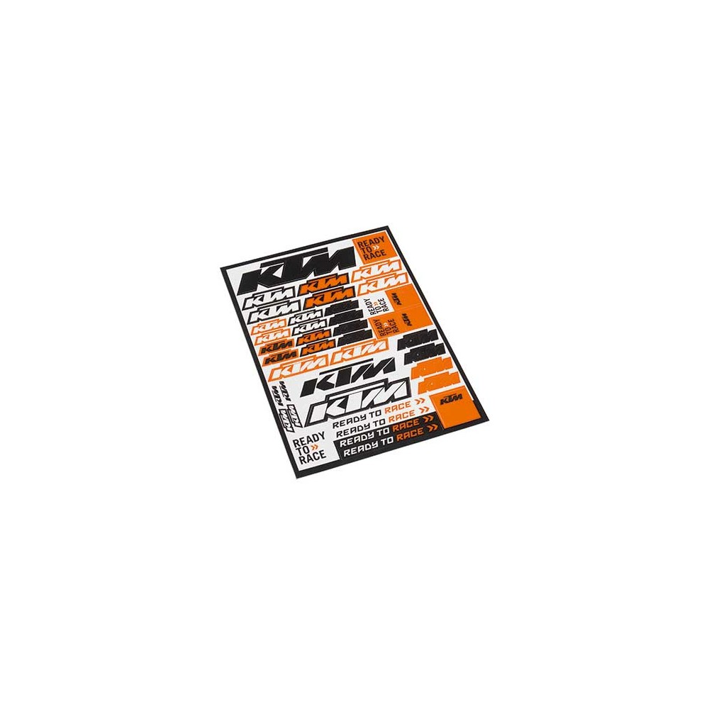 Planche Stickers Ktm Quot Logo Quot 2016 Badge Stickers