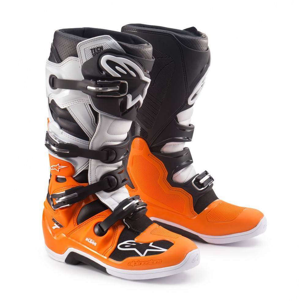 bottes ktm alpinestars tech 7 mx bottes wolff moto products sarl. Black Bedroom Furniture Sets. Home Design Ideas