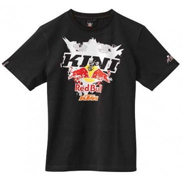 "TEE SHIRT KTM/KINI-RED BULL"" INTERLACED"" NOIR"