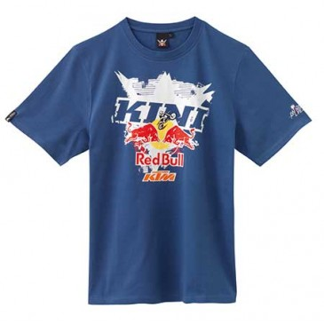 "TEE SHIRT KTM/KINI-RED BULL"" INTERLACED"" BLEU"