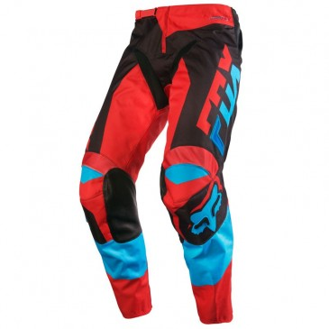 PANTALON FOX 180 MAKO BLEU/ROUGE