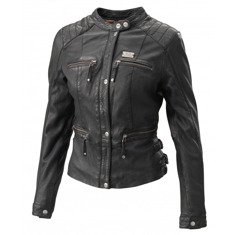 veste cuir femme ktm peerless veste wolff moto products sarl. Black Bedroom Furniture Sets. Home Design Ideas