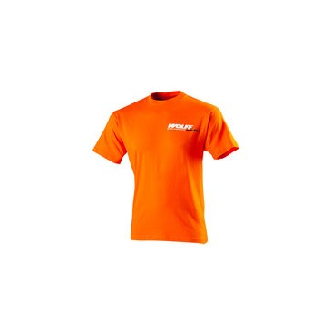 TEE SHIRT WOLFF ENFANT ORANGE