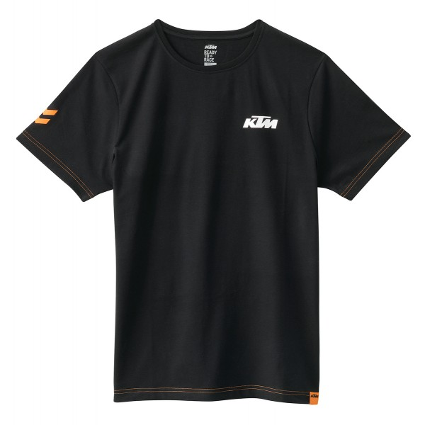 tee shirt ktm racing noir tee shirts wolff moto products sarl. Black Bedroom Furniture Sets. Home Design Ideas
