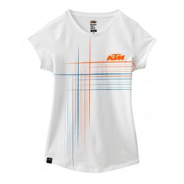 TEE SHIRT FEMME KTM LINES