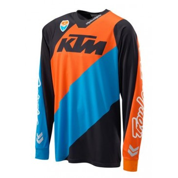 MAILLOT KTM TROY LEE DESIGN SLASH NOIR