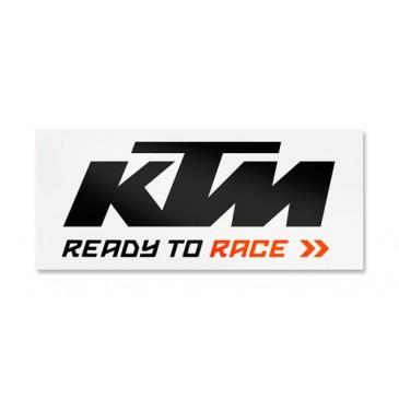 AUTOCOLLANT CAMION KTM