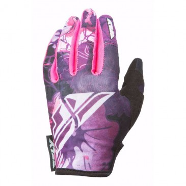 GANTS FLY KINETIC ROSE/BLANC