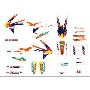 KIT DECO KTM FACTORY SX 16/18