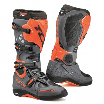 BOTTES TCX COMP EVO MICHELIN GRIS/ORANGE