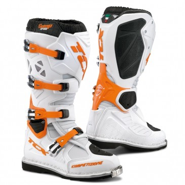 BOTTES TCX COMP EVO BLANC/ORANGE