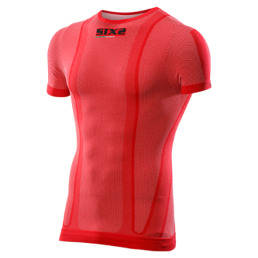 MAILLOT MANCHES COURTES SIXS ROUGE