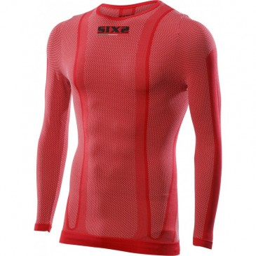 MAILLOT MANCHES LONGUES SIXS ROUGE