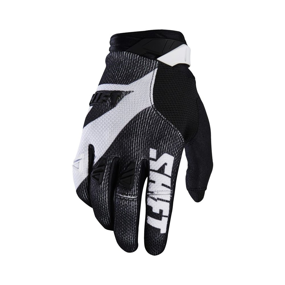 GANTS SHIFT 3LACK PRO MAINLINE NOIR/BLANC 2017