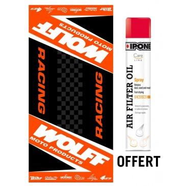 Offre spéciale tapis Wolff + Spray filtre