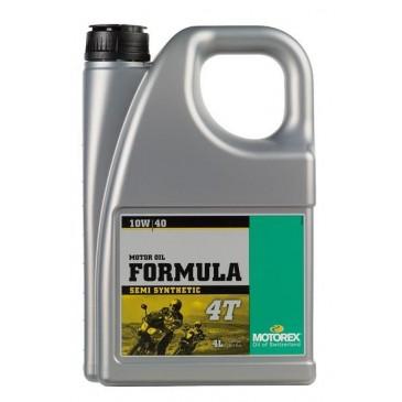 HUILE MOTEUR MOTOREX FORMULA 4T 10W40