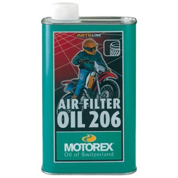 HUILE FILTRE A AIR MOTOREX AIR FILTER OIL 206 1L