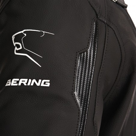 VESTE ROUTE CUIR BERING KINGSTON EVO