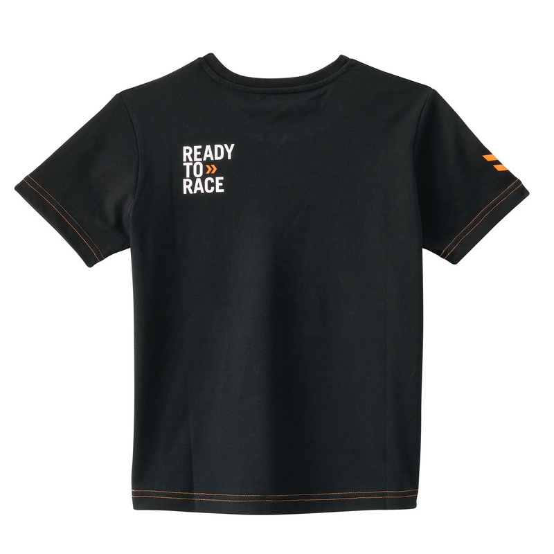 tee shirt enfant ktm racing noir tee shirt wolff ktm. Black Bedroom Furniture Sets. Home Design Ideas