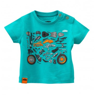 TEE SHIRT BEBE KTM MECHANIC