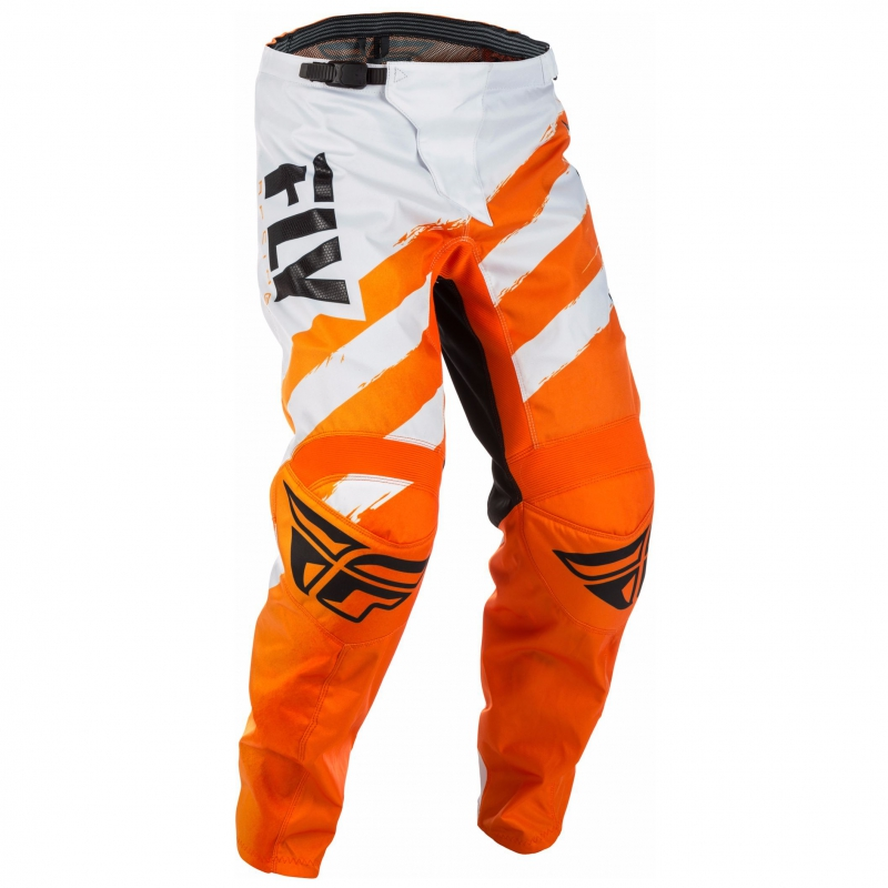 pantalon enfant fly f 16 orange blanc pantalon wolff ktm. Black Bedroom Furniture Sets. Home Design Ideas
