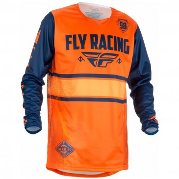 MAILLOT FLY KINETIC ERA ORANGE XXL