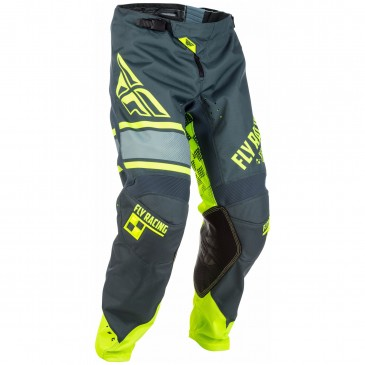 PANTALON FLY KINETIC ERA JAUNE FLUO GRIS