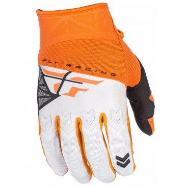 GANTS FLY F-16 ORANGE/BLANC