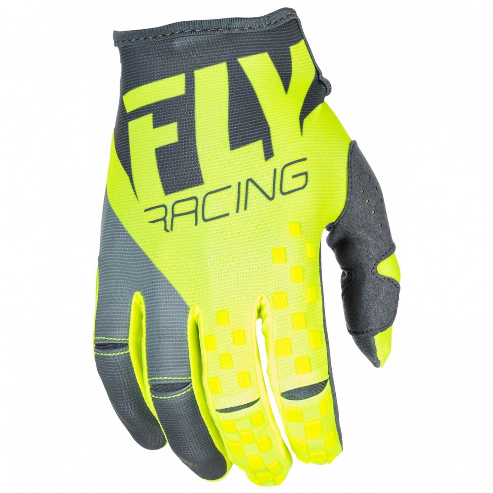 GANTS FLY KINETIC GRIS/JAUNE FLUO