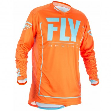 MAILLOT FLY LITE HYDROGEN ORANGE/BLEU