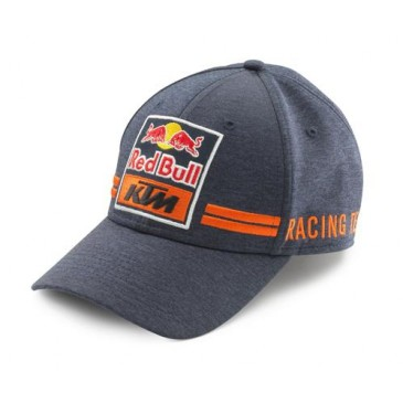 CASQUETTE KTM/RED BULL REPLICA TEAM CURVED