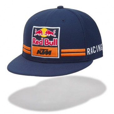 CASQUETTE KTM/RED BULL REPLICA TEAM FLAT