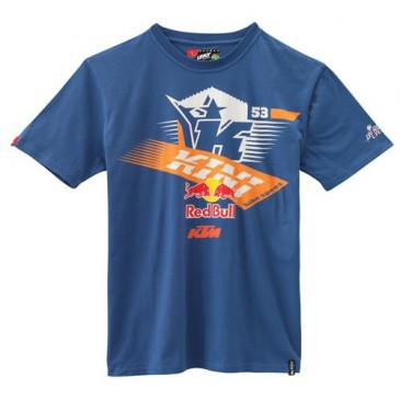 TEE SHIRT KTM/KINI-RB ATHLETIC TRUE NAVY