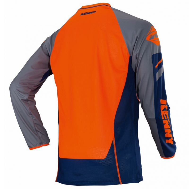 maillot kenny titanium bleu orange maillots wolff ktm. Black Bedroom Furniture Sets. Home Design Ideas