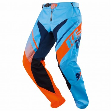 PANTALON KENNY TRACK BLEU/ORANGE
