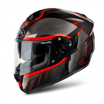 CASQUE AIROY ST 701 SHADE FULL CARBON ORANGE GLOSS