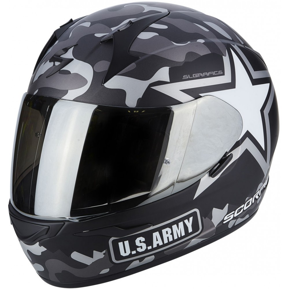 Casque moto us army