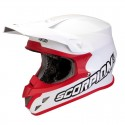CASQUE SCORPION VX20 AIR UNI BLANC/ROUGE
