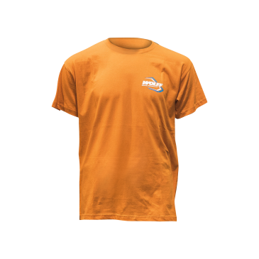 TEE SHIRT WOLFF ORANGE 2018