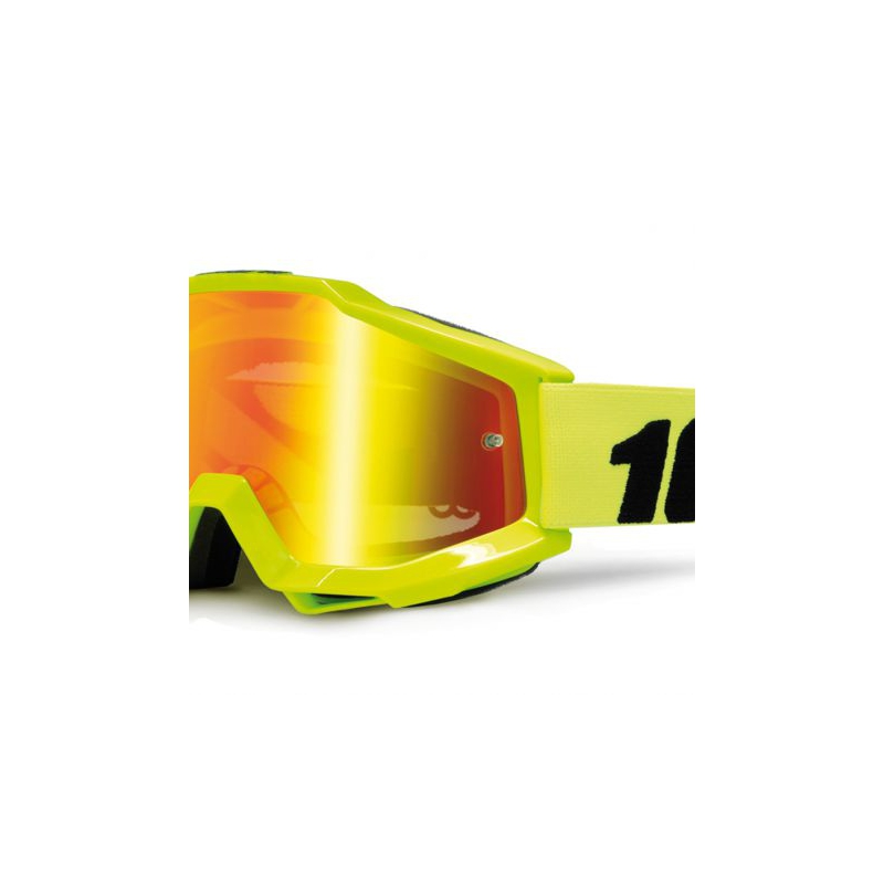 LUNETTES 100% MODELE ACCURI FLUO YELLOW