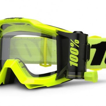 LUNETTES 100% ACCURI FORECAST FLUO YELLOW