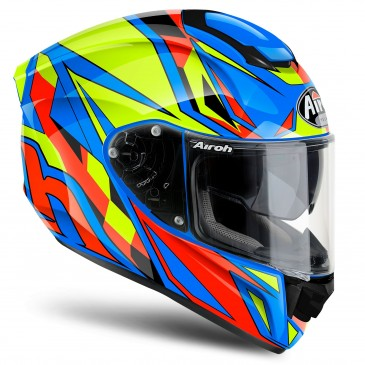 CASQUE AIROH ST501 THUNDER BLUE GLOSS