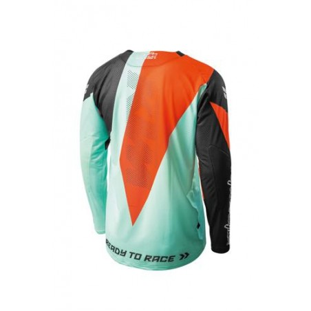 MAILLOT KTM/TLD SE AIR TURQUOISE