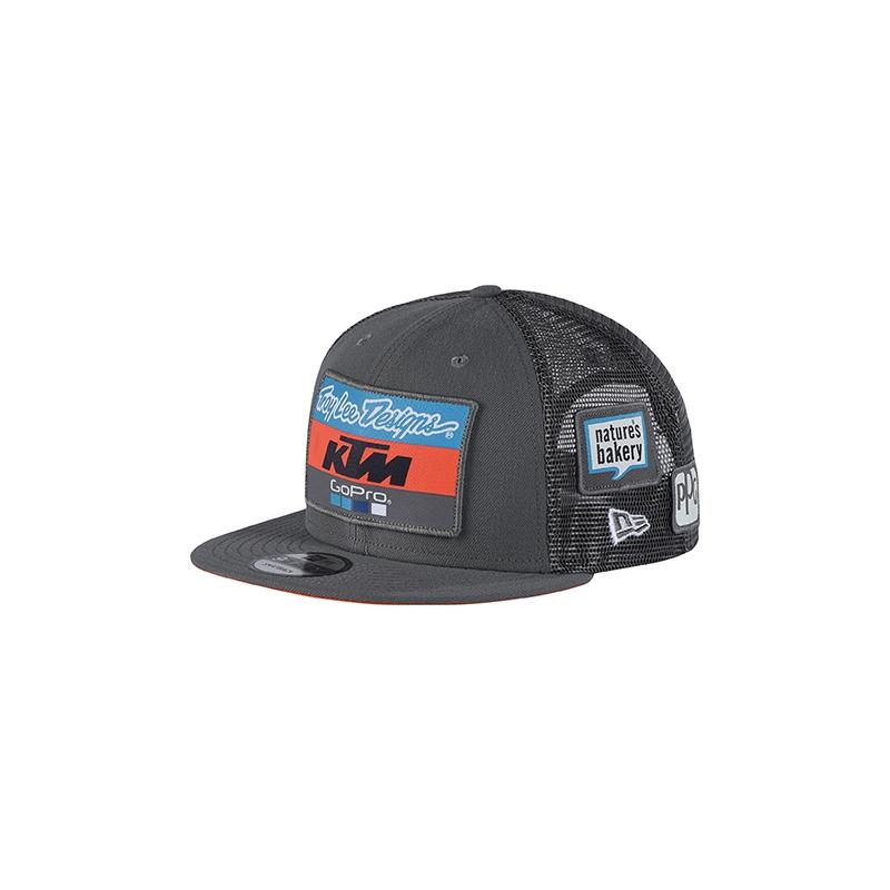 618c0fe90050a CASQUETTE GRISE TROY LEE DESIGNS KTM 2018 - Casquettes/bonnet ...