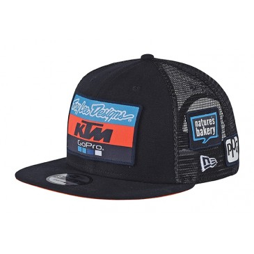 CASQUETTE ENFANT BLEUE TROY LEE DESIGNS KTM 2018