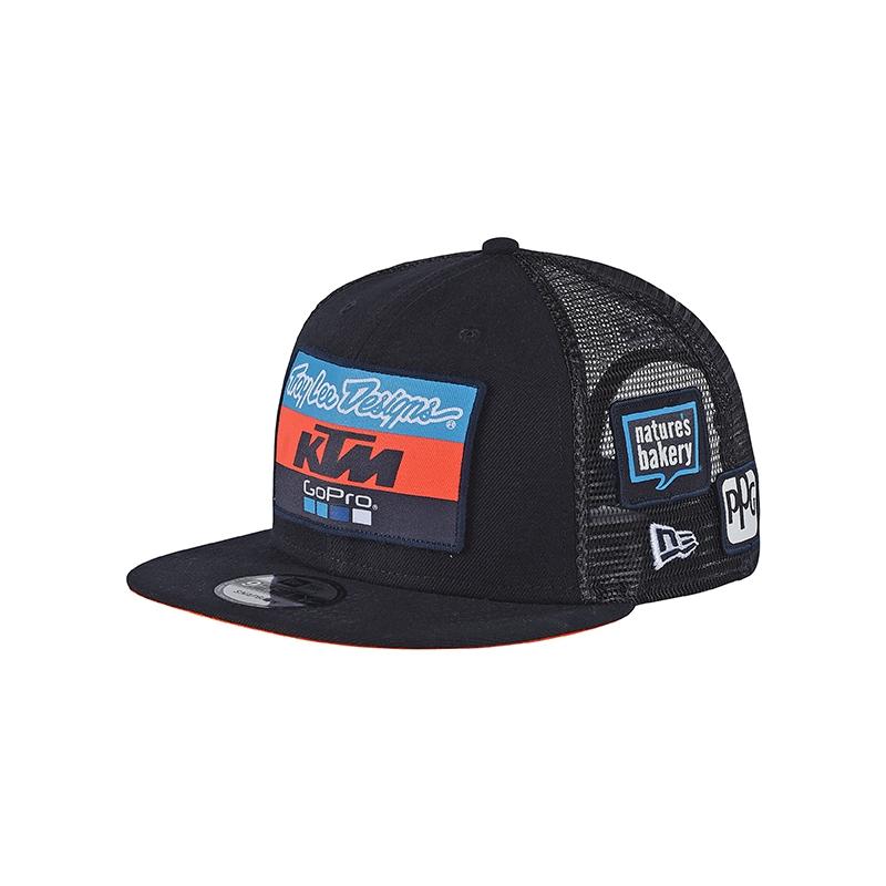 CASQUETTE ENFANT BLEUE TROY LEE DESIGNS KTM 2018 - Casquette bonnet ... 234481306d5